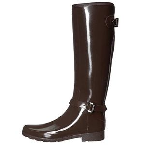 NEW Hunter Refined Adjustable Gloss Boot